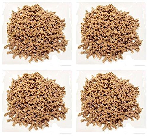 4x 250g PALEO Nudeln Kohlenhydratreduzierte Pasta GLUTENFREIE Nudeln mit Sonnenblumenkernmehl (4x Fussili)