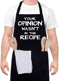 Funny Baking Apron Rainbow Unicorn \u2013 Novelty Cooking Chef Gift For Men \u2013 Womens Baking Gift Full BBQ Grilling Kitchen Apron