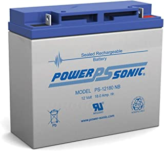12V 18AH New Sealed AGM Battery for YardWorks Electric Lawn Mower