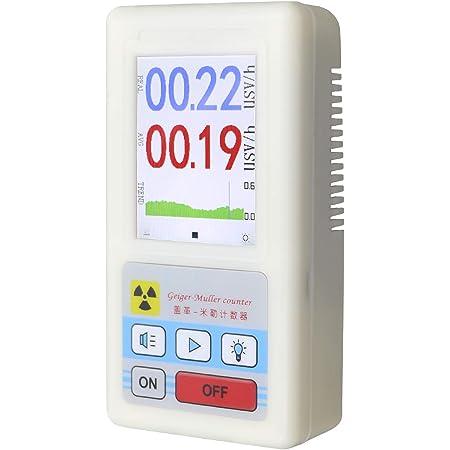EC Tool 放射線測定器 高精度 ガイガーカウンター ポータブル 放射能測定器 放射能空間線量計 BR-6 2Way給電 日本語説明書付 最大測定値99.99μSv/h β線/γ線/X線測定