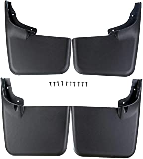 HUSKY Mud Guards Front /&  Rear Flaps for 17-19 FORD F350 DUALLY w// Fender Flares