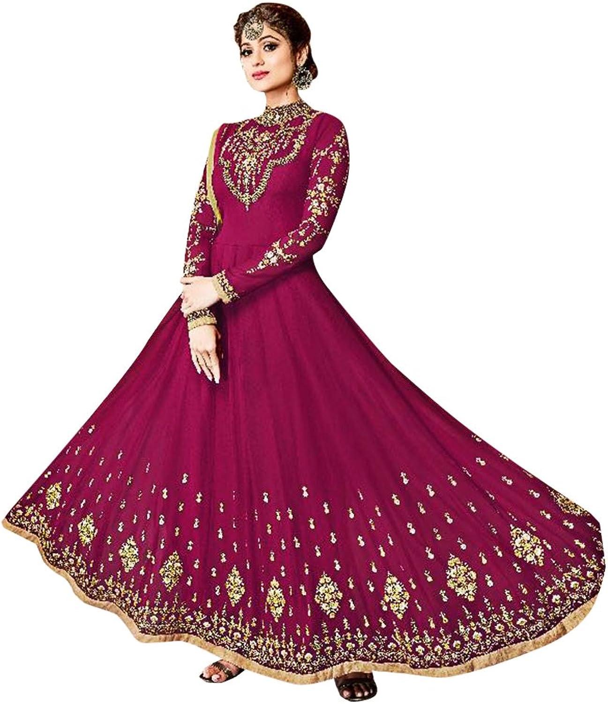 Bollywood Collection Anarkali Dresses for women Salwar Kameez Ceremony Wedding 910 9