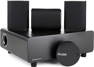 Platin Milan 3.1 con WiSA SoundSend | Sistema de cine en casa | Sonido envolvente inalámbrico que ahorra espacio para Smar...
