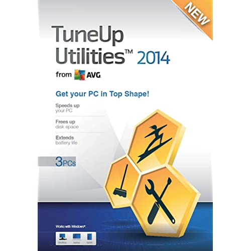 TuneUp Utilities 2014 - 3 User (PC)