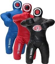 Jayefo Tommie 6.1 Kids PRO Veg Leather MMA Brazilian JIU Jitsu Grappling Throwing Submission Dummy. Wrestling Bag Punching Bag Kickboxing Hanging Standing Dummy- UNFILLED