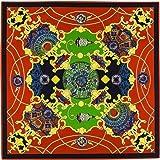YDMZMS Marchio Sciarpa in Seta Twill 100% Donna Sciarpa silenziosa con Stampa Cielo Notturno Bandana 100 cm Sciarpe quadrate Femal Foulard Turban2