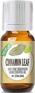 Cinnamon Leaf Essential Oil - 100% Pure Therapeutic Grade Cinnamon Leaf Oil - 10ml