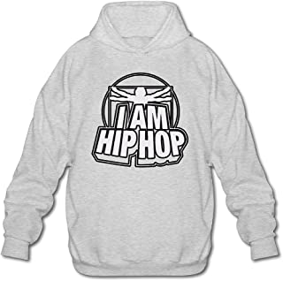 MPIQW Adult I Am Hip Hop Hoodie Warm Pullover Sweatshirt