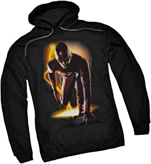 DC Comics Ready! - CW`s The Flash TV Show Adult Hoodie Fleece Sweatshirt