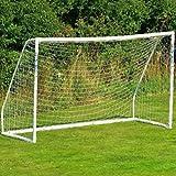 AZITEKE - Jardín portátil de exterior de tamaño completo con red de fútbol a prueba de putrefacción para 4-11 personas (1.8 * 1.2m, solo contiene...