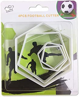 Best pentagon cutters for football cake Reviews