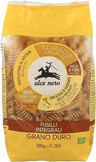 ALCE NERO(アルチェネロ) 有機全粒粉フジッリ 500g