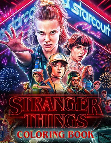Stranger Things Coloring Book: Coloring Book For Kids and Ad