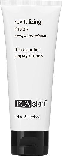 PCA SKIN Revitalizing Face Mask - Brightening & Exfoliating Papaya Treatment (2.1 oz)