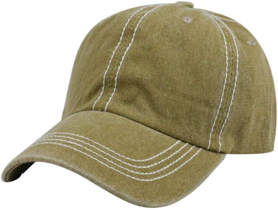 Popular standard European and Men Women Sacramento Mall Grownup Cotton Washed Ca Cap Baseball