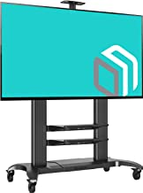 ONKRON Mobile TV Stand Rolling TV Cart for 60