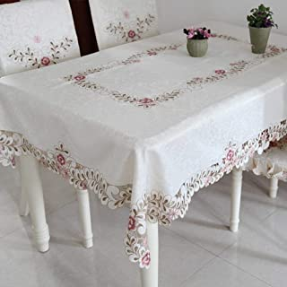 JFFFFWI Table Cloth, The Style of The Garden European pad of Table Cloth - with a Diameter of 175 cm (69 Customs)