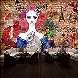 Zybnb Papel Tapiz Fotográfico Fotomural De Manicura Tienda De Manicura Estudio De Tatuajes Tienda De Maquillaje Salón De La Tienda Fondo Pintado Mural Pintado A Mano