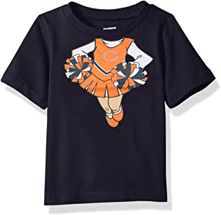 Outerstuff NFL Unisex NFL Infant Dream Cheerleader Short Sleeve Tee