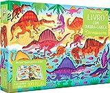 Livro com quebra-cabeça : Dinossauros