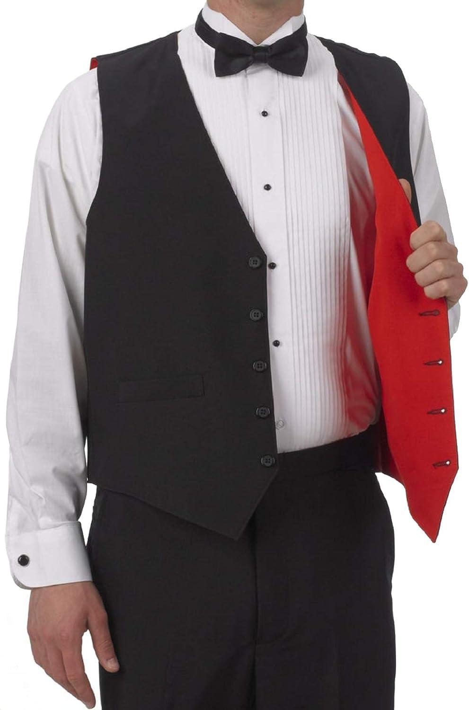 Indefinitely SixStarUniforms Men's Full Back Reversible Vest Gifts Dress