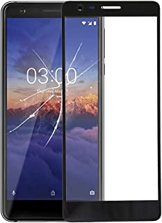 WTYD Mobile Phone Lens Glass Front Screen Outer Glass Lens for Compatible with Nokia 3.1