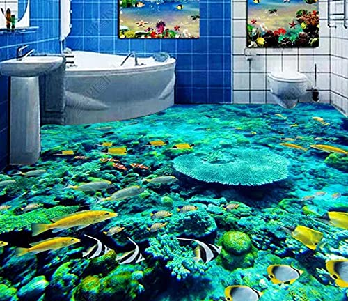 Baldosas de vinilo impermeables3D personalizadaspara sala de estar, dormitorio, baño, papel tapiz de suelo, vinilo autoadhesivo, mural de pared, suelo-200x140cm
