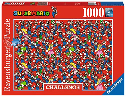 RAVENSBURGER PUZZLE 16525 16525-Super Mario Bros challenge-1000 Teile