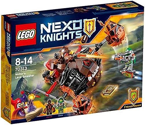 promocionales de incentivo LEGO LEGO LEGO Nexo caballeros Moltors lava Smasher 70313 8 +  mejor opcion