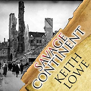 Savage Continent audiobook cover art