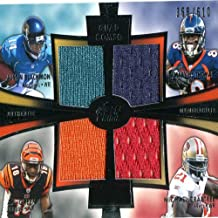 Justin Blackmon, DeMaryius Thomas, AJ Green and Michael Crabtree Unsigned 2012 Toopps Prime Quad Jersey Card