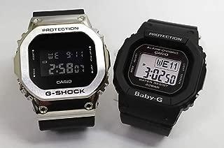 カシオCASIO 正規品 腕時計 G-SHOCK ペアウォッチ 純正ペアケース入り ジーショック&ベビージー 2本セット GM-5600-1JF BGD-560-1JF