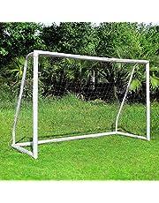 femor fotbollsmål, fotbollsmål med ett klicksystem, träningsfotbollsnät för trädgård, inomhus, bakgård, strand under alla väderförhållanden, träningsportar för målstadion för barn och vuxna, snabb montering