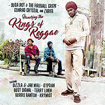 Honoring the Kings of Reggae: Suga Roy & The Fireball Crew, Conrad Crystal, & Zareb