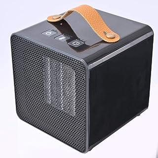 sxhw Calentador Hogar Pequeño-Negro Calentador De Ventilador De Rápido Calentamiento Calefactor Cerámico De para Cuarto Baño Sistema Antivuelco Protección Calentador De Espacio