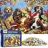 MOOKLIN ROAM Puzzle 1000 Piezas Linda Mascota, Puzzles Souvenir Regalo para Adolescentes y Adultos