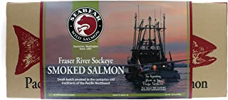 Smoked Fraser River Sockeye Salmon 1 lb gift box