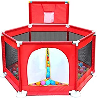MWPO Portable baby playground with shooting range  safe plastic playground  suitable for toddlers  baby park 66cm bed rail