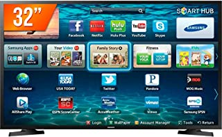 "Smart TV  32"" LED, Samsung, LH32BENELGA/ZD, HD, HDMI, USB, Wi-Fi,"