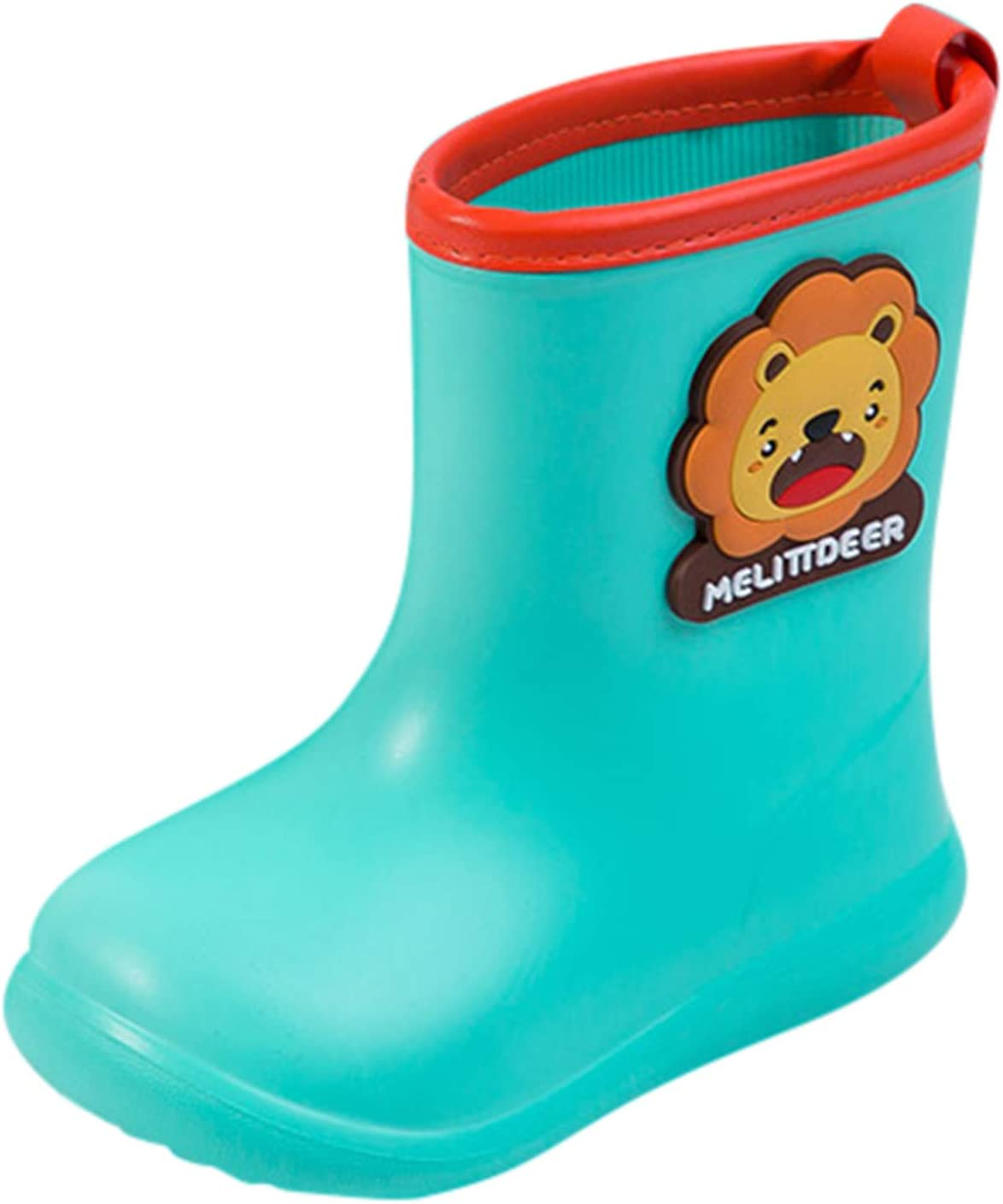 1-8T Baby Toddler Infant Max 71% OFF Cartoon Waterproof Rubber Boys Max 40% OFF Girls
