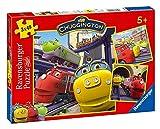 Ravensburger 09294 - Puzzle de 49 Piezas de Chuggington: Wilson y Sus Amigos (3 Unidades)