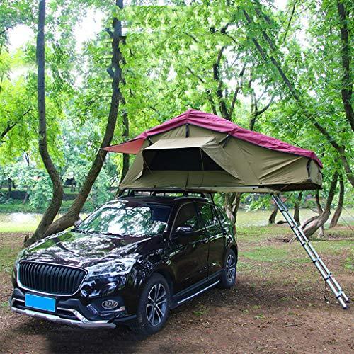 ADKINC Außen Hard Shell, Turm Dach Dachzelt für Autos LKW SUVs Camping Travel Mobile (Hydraulisches Klappsystem)