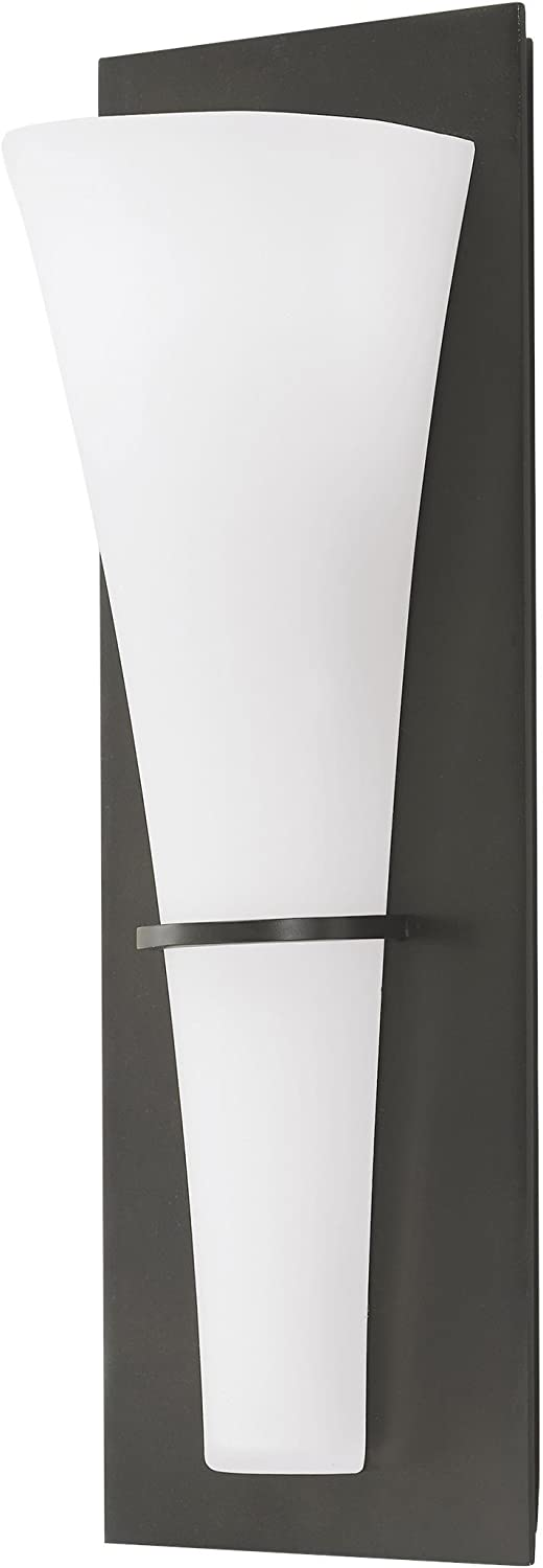Feiss WB1341ORB-L1 Barrington LED ADA Wall Sconce, Oil Rubbed Bronze