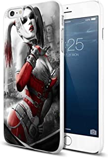 harley quinn character of the dark knight movie For iPhone 6 Plus/6s Plus White Case