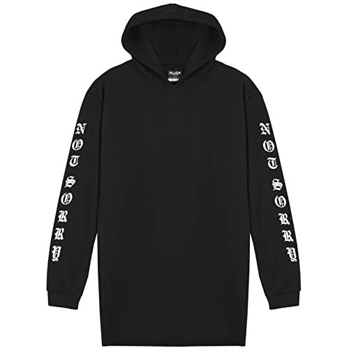 81eeb49c84 Not Sorry Hooded Dress Women s Hoodie Sweater Tumblr Grunge Japanese Goth