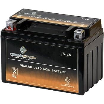 Replacement 2004 Polaris Predator 500 500CC Factory Activated UB-YTX9-BS Maintenance Free 12V 8Ah ATV Battery