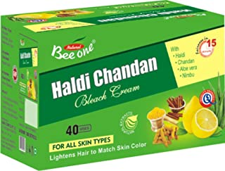 BEEONE BLEACH CREAM HALDI CHANDAN 250 GMS