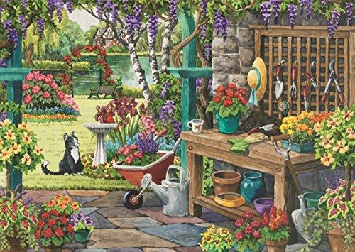 Falcon de luxe Garden in Bloom Jigsaw Puzzle (X-Large, 200-Piece)
