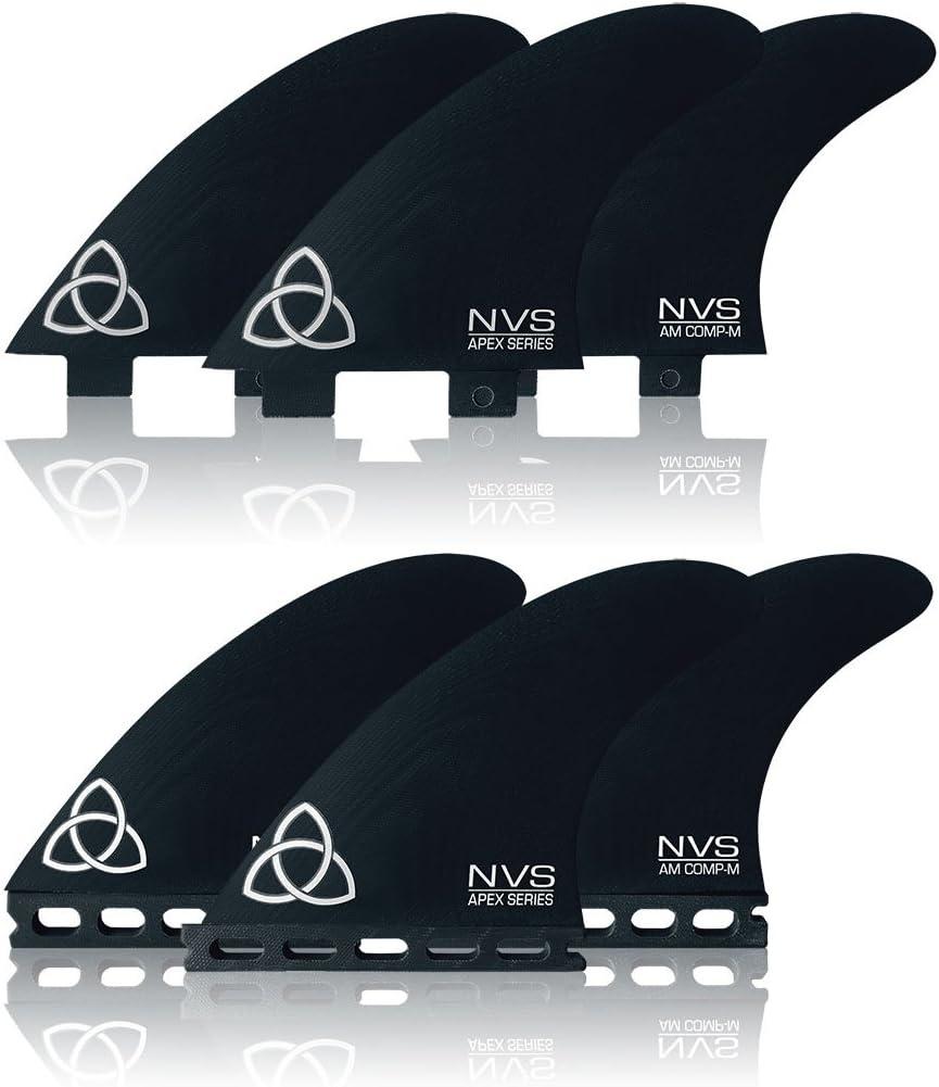 Naked Viking Surf NVS: Award Cash special price Medium AM-Comp Fins Series Apex Surfboard