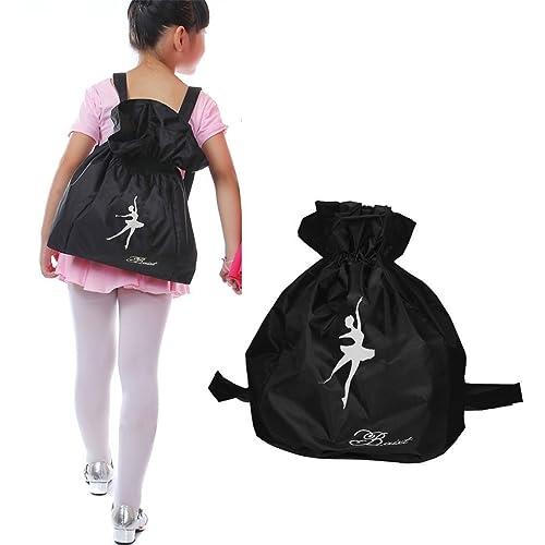 Greenery Waterproof Dance Bags Shoulder Strap Drawstring School Backpack  for Kids Girls Boys 566985788ba09